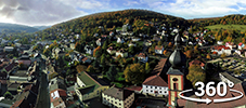 360° view of Bad Brückenau